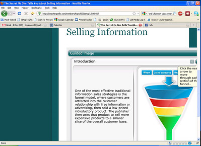 Teaching Sells screen shots