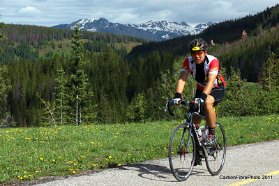 Return Ride--Ascent, Vail Pass