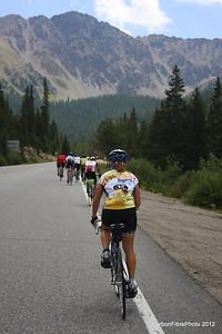 Ascent, West Loveland Pass.
