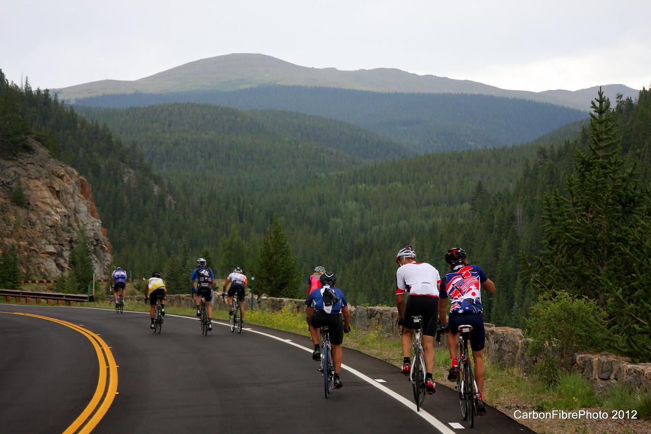 Toward Mt. Evans.