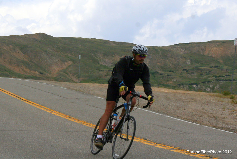 Descent off Loveland Pass.