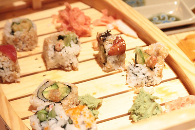 Here is some of the sushi we like.