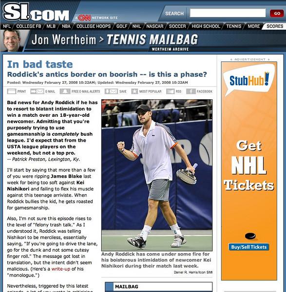 2008 02 27 SI com (Andy Roddick)