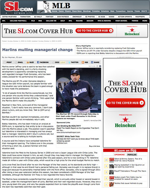 2009 10 05 SportsIlustrated com (Gonzales)