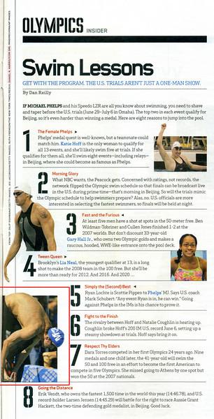 2008 06 30 ESPN The Magazine (Michael Phelps)