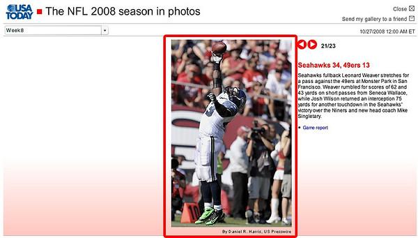 2008 10 26 USA Today (Leonard Weaver)