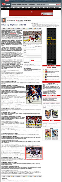 2009 10 07 SportsIllustrated com (Anze Kopitar)