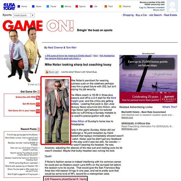 2008 10 14 USA Today (Mike Nolan)