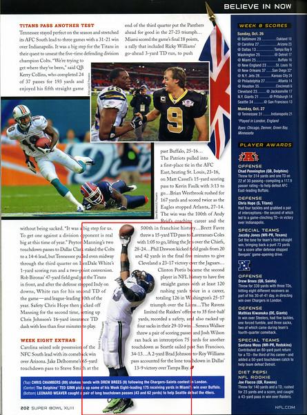 2009 02 01 Super Bowl XLIII Official Program (Leonard Weaver)