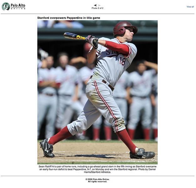 2008 06 03 Palo Alto Weekly (Sean Ratliff)