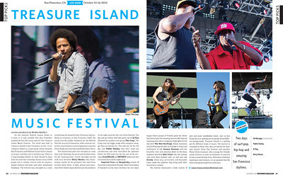 Performer Magazine, Oct 2012