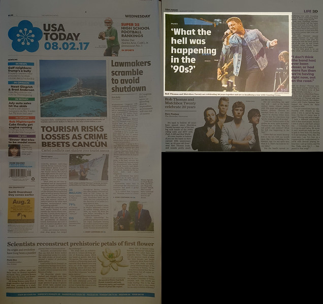 USA Today 8/2/2017