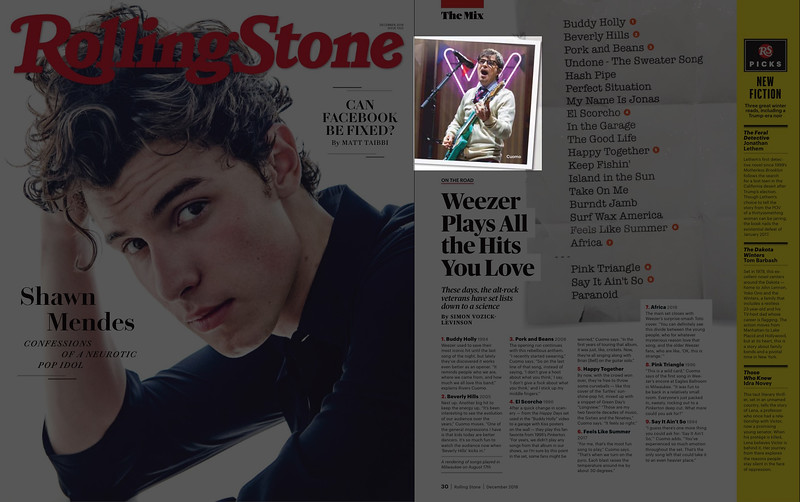 Rolling Stone December 2018