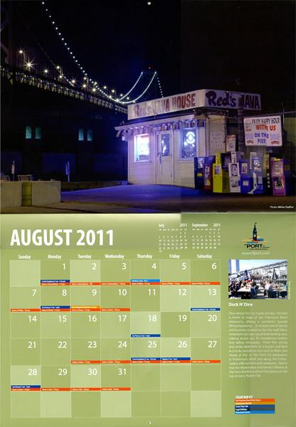 Port of San Francisco Calendar 2011