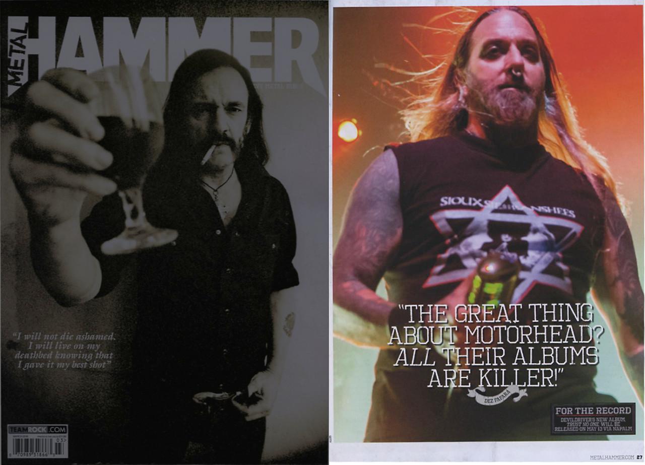 Metal Hammer, March 2016