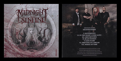 Midnight Sinfini - Band shot for Shadow Borne EP