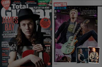 Total Guitar, December 2015