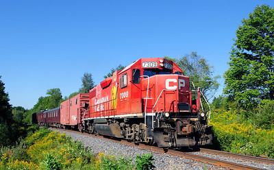 Canadian Pacific, Track Geometry Train, Foster Qc