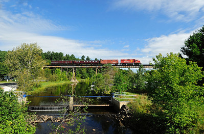 Canadian Pacific, Track Geometry Train, Eastman Qc