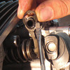 To change setting, first remove shaft retaining clip.