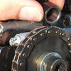 Slide rocker arm the other way and off!   Measure and change adjuster as necessary. (per step#8)