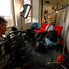 """Technisonic crew prepares for an interview with famed architect Gyo Obata for the documentary """"The Gateway Arch: A Reflection of America""""."""