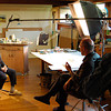"Capturing an interview for ""Joe Jones - Radical Painter of the American Scene"""