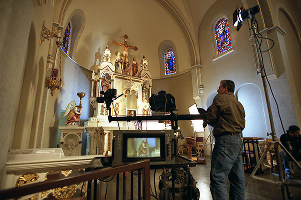 Documenting a recent restoration of Sacred Heart Church.  In addition to directing the video, we captured before and after still photography of this historic church in Valley Park, Missouri.