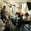 The Civil Pictures team conducts an interview with beloved American novelist William Gass for the Gateway Arch documentary.