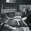 Circa 1976 - Technisonic electronics guru and engineer Bob Brose at the mixing console in Studio A on South Brentwood Boulevard.  Note the rotary phone in the foreground!  Studio A was large enough to accommodate the Saint Louis Symphony at the time.  (Photo from the Technisonic archive.  Captioned by Calvin Crane.)
