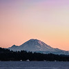 Another clear evening shot of Mt. Rainier.