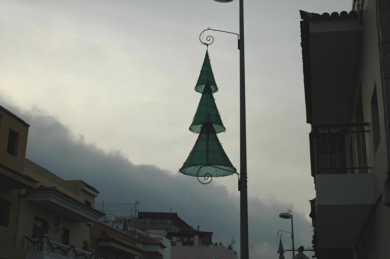 weihnachtsschmuck in cruz santa