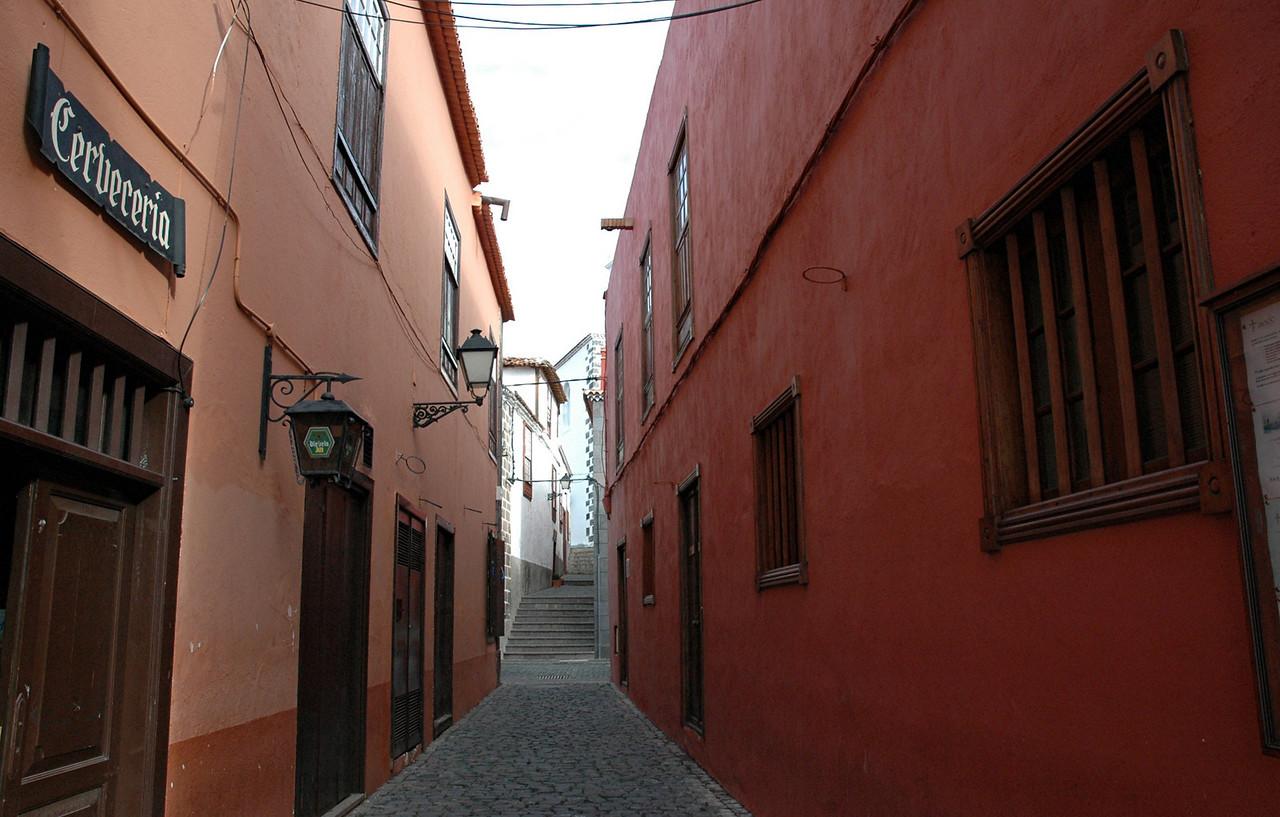 garachico, ein kleines kuestenstaedtchen im norden, einstmals hafen