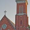 Tower of St. Luke's Episcopal Church Cleveland
