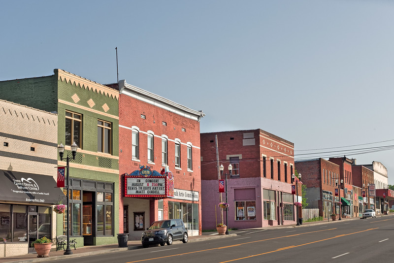 Gem Theater and Stores in Etowah Tennessee