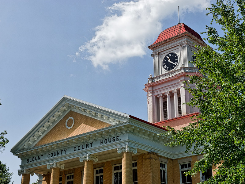Blount County Court House in Maryville
