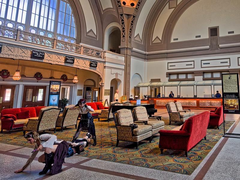 Chattanooga Choo Choo Waiting Room