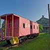L&N Caboose at Etowah Railroad Depot