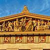 Bas-Relief of Nashville's Parthenon