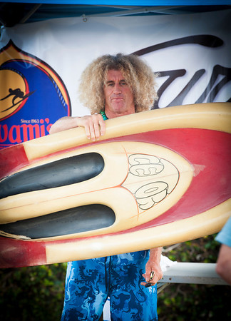 Terry Hendricks Paddle Out Swami's