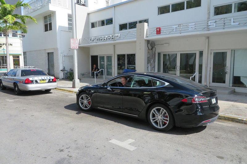 Time for Ted's Tesla test drive.