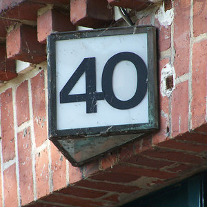 This is one of many house number photos I took during my September 2006 trip to Berlin.