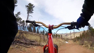 Test ride with go pro