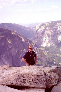 From the top of Half Dome