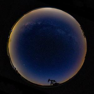 Milky Way @ Hagerman Wildlife Refuge