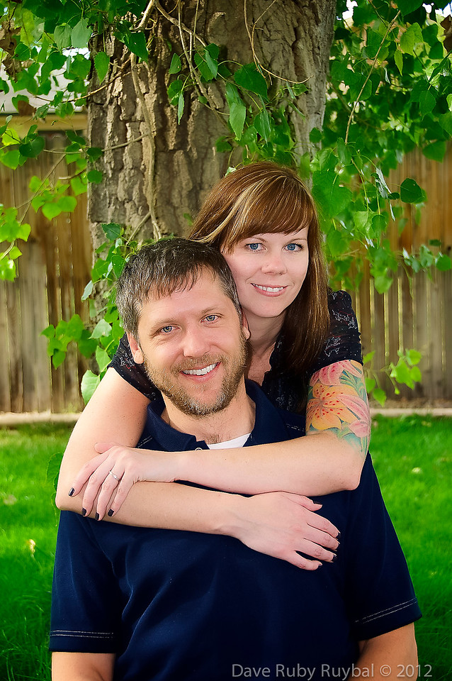 """""""My fiance and I had the wonderful experience of working with Dave on our engagement photos. The pictures came out perfect! Dave is a joy to work with and his attention to detail is wonderful. Our pictures came out great and we can't wait for Dave to shoot our wedding!"""" <br /> <br /> Maggie and Michael"""