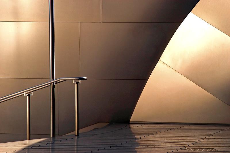 Modern Architecture Disney Concert Hall, Los Angeles, architecture