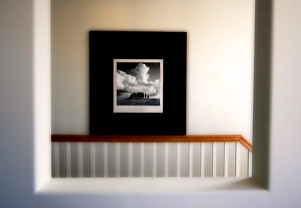 Black In White* interior,