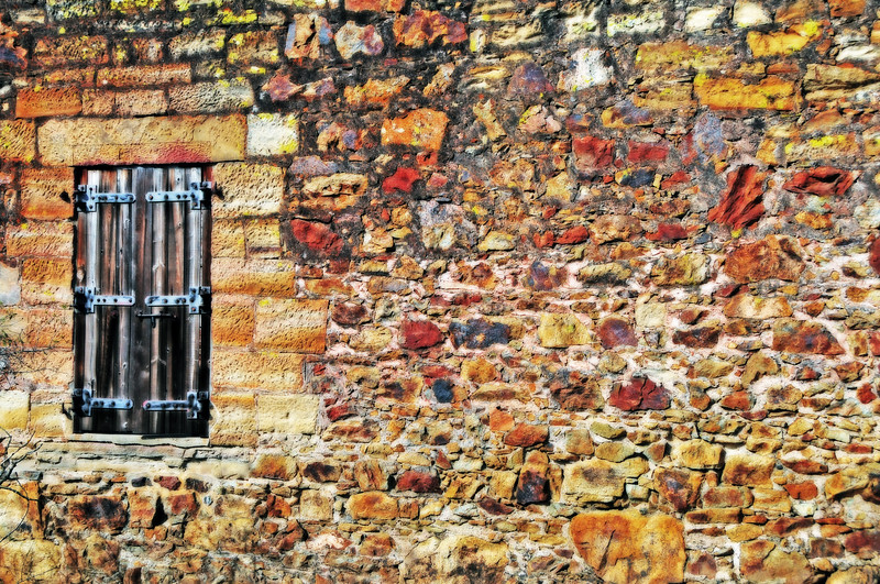 window, rustic, wall, stone, abstract