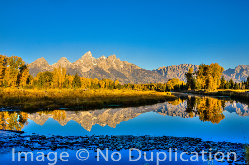 Teton Reflection, Grand Teton National Park